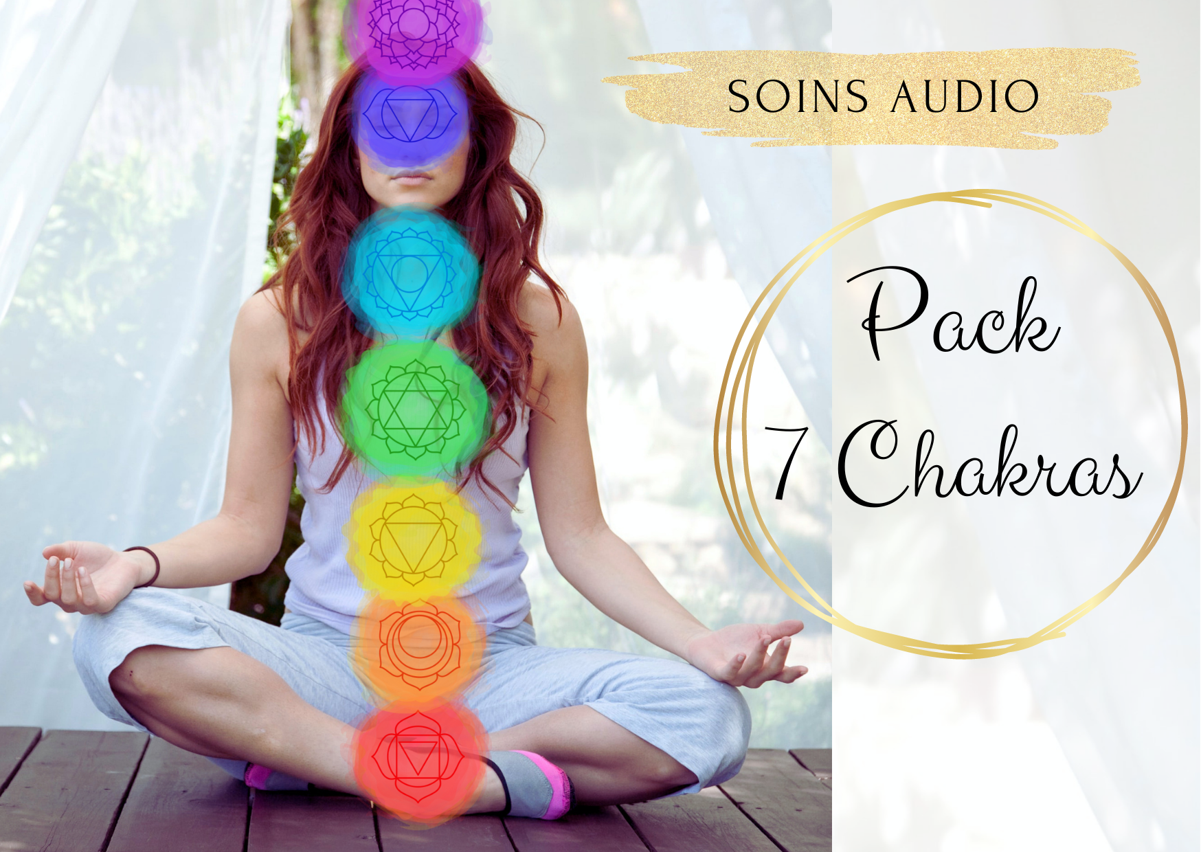 soin audio pack chakras